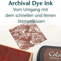 Archival Dye Ink Stempelkissen