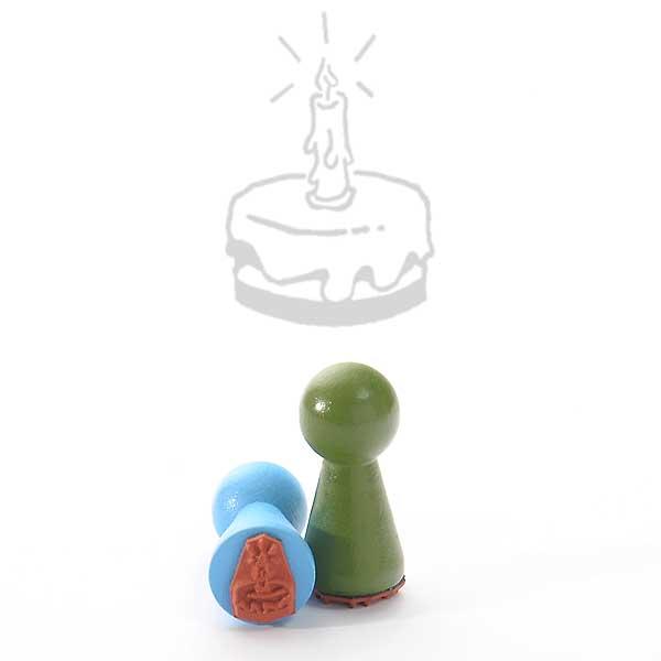 Motivstempel Titel: Ministempel Geburtstagstorte