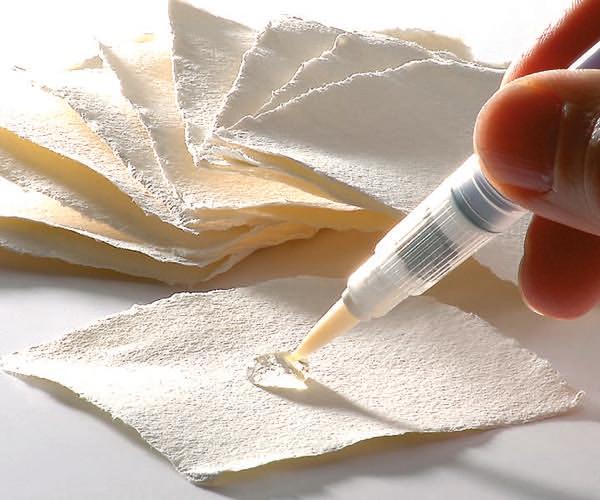 Handgeschöpftes Aquarellpapier
