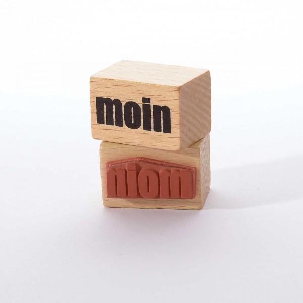 Motivstempel Titel: moin