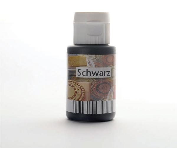 Acryl zum Stempeln · Schwarz