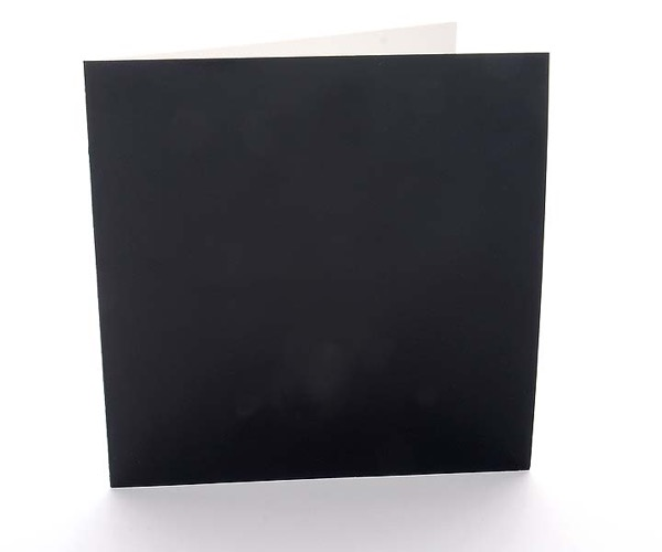 Amadeo Karten Kromo Schwarz