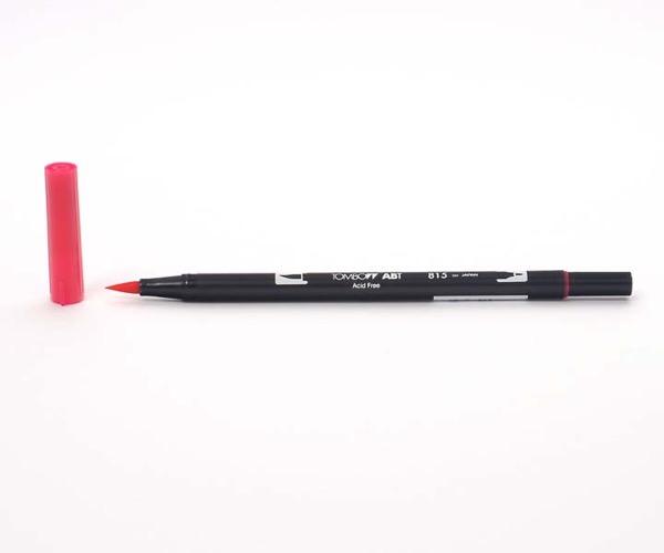 Tombow Dual Brush Pen - Cherry - Kirschrot