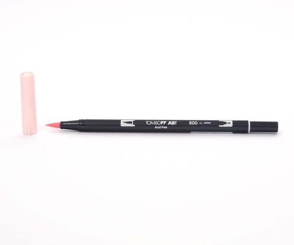 Tombow Dual Brush Pen - Baby Pink - Baby Pink