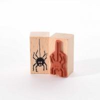 Motivstempel Titel: Spinne