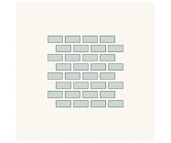 Grafische Schablonen - Ziegel (82 x 77 mm)