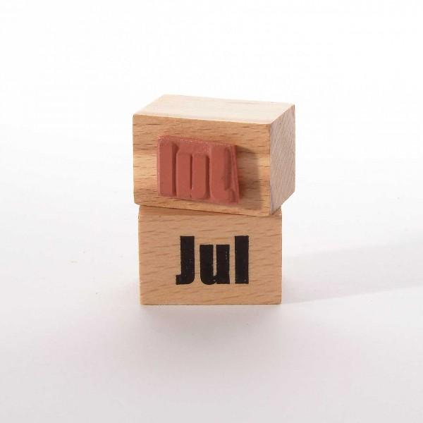 Motivstempel Titel: Monate - Jul