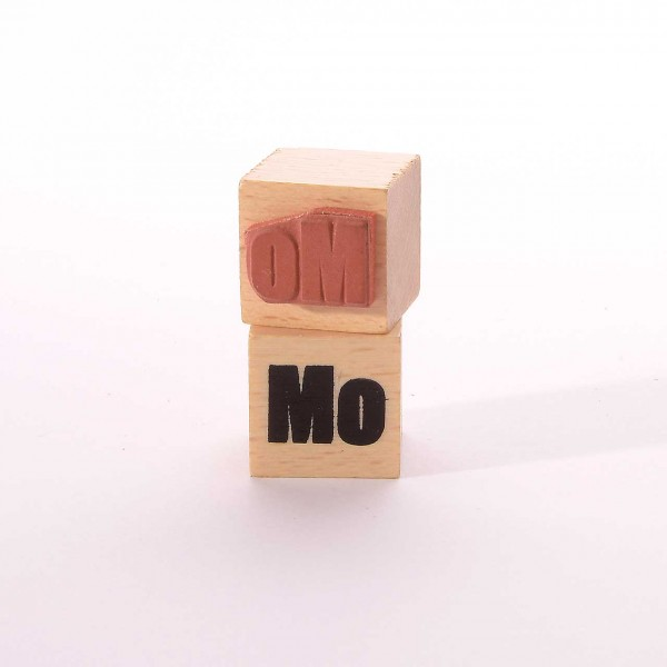 Motivstempel Titel: Wochentage - Mo