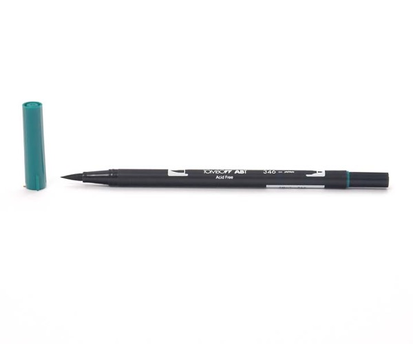 Tombow Dual Brush Pen - Sea Green - Meeresgrün