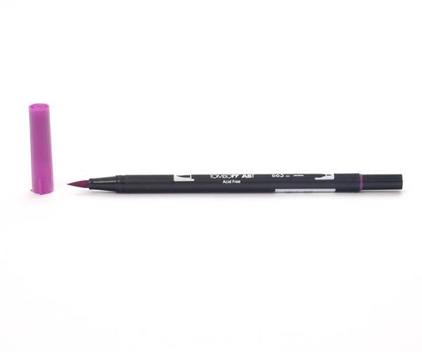 Tombow Dual Brush Pen - Purple - Lila