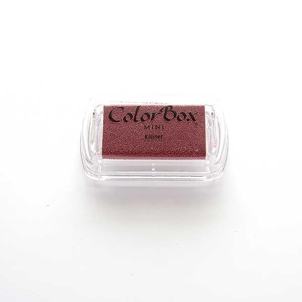 Mini ColorBox · Kismet - Krapprot dunkel