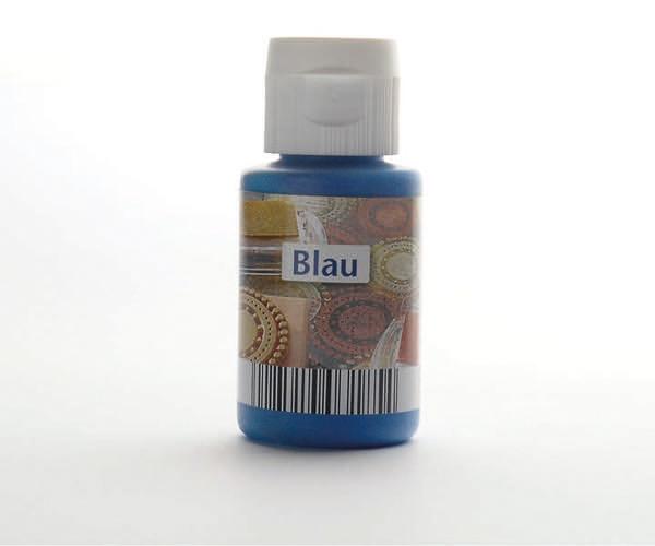 Acryl zum Stempeln · Blau