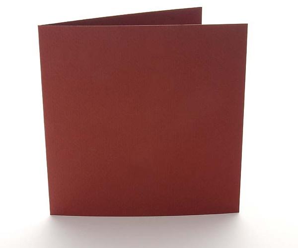 Amadeo Karten Weinrot