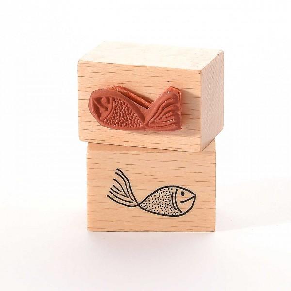 Motivstempel Titel: Kleiner Fisch I