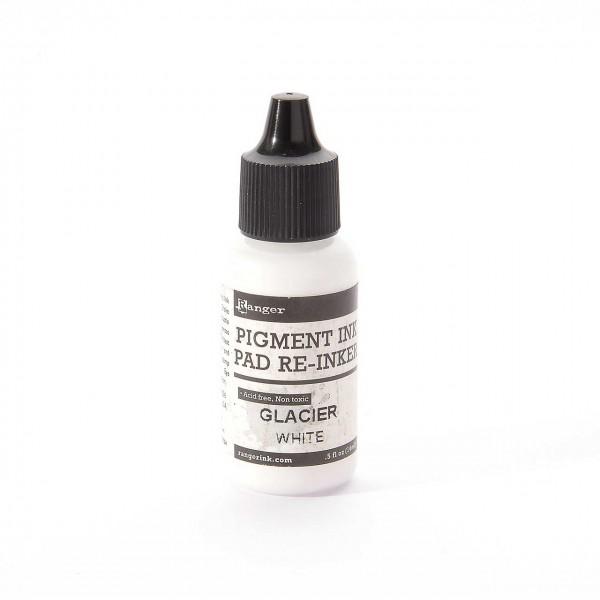 Ranger Pigment Ink Refill - Glacier White · Weiß