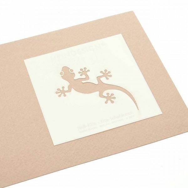 Mini-Kite-Schablonen - Gecko