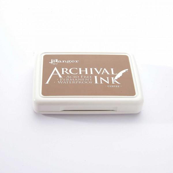 Ranger Archival Ink - Coffee · Milchkaffeebraun
