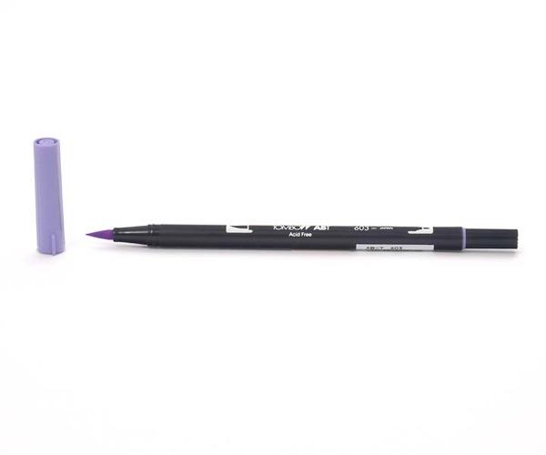 Tombow Dual Brush Pen - Periwinkle - Hellviolett