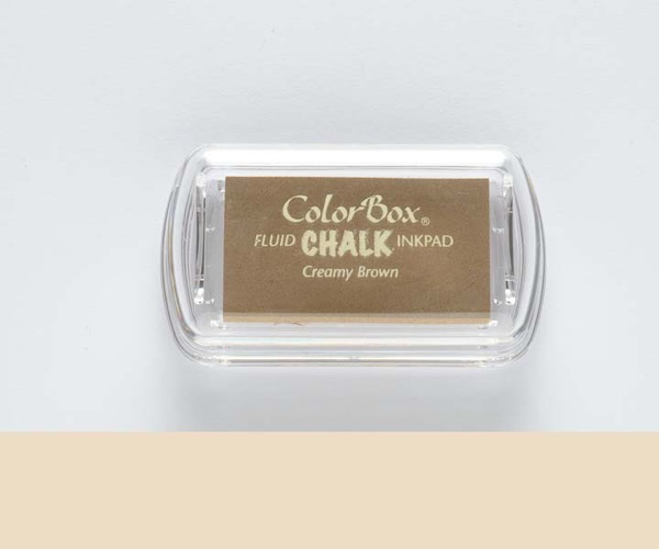 MINI-Chalk Creamy Brown - Creme Braun