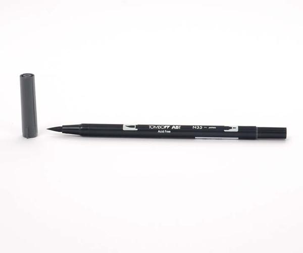 Tombow Dual Brush Pen - Cool Gray 12 - Grauton kalt 12