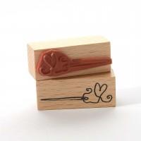 Motivstempel Titel: Nähnadel mit Herz