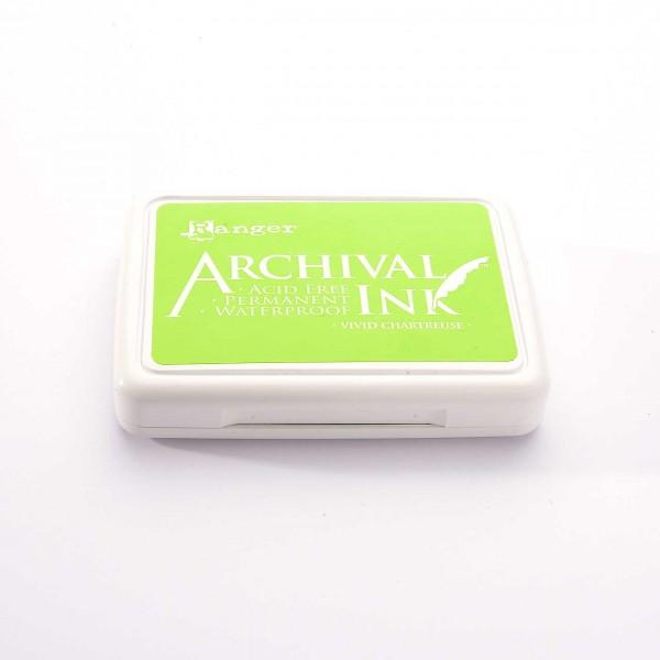 Ranger Archival Ink - Vivid Chartreuse · Gelbgrün