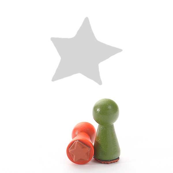 Motivstempel Titel: Ministempel Grafik Stern von Judi-kins