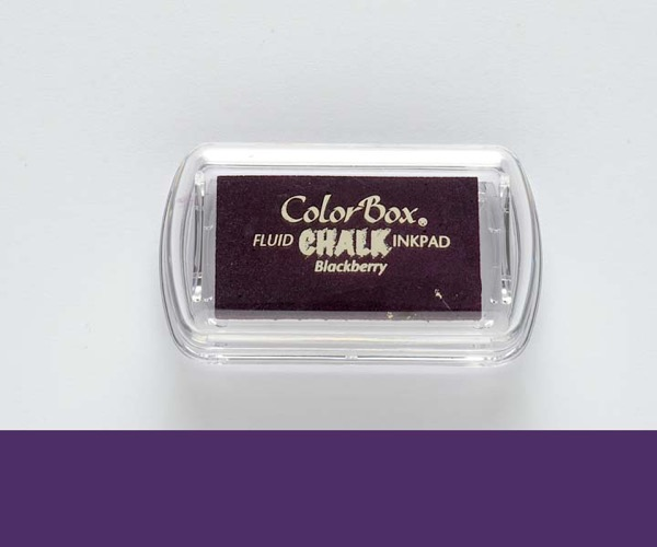MINI-Chalk Blackberry - Brombeere