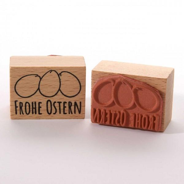Motivstempel Titel: Frohe Oster(Eier)