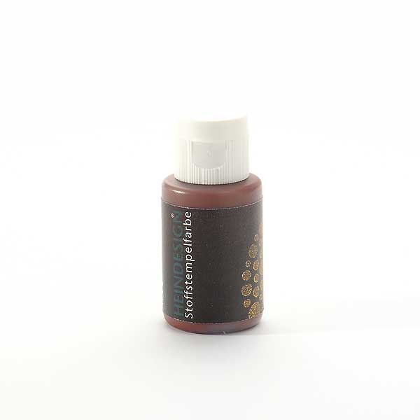 Stoffstempelfarbe - Braun