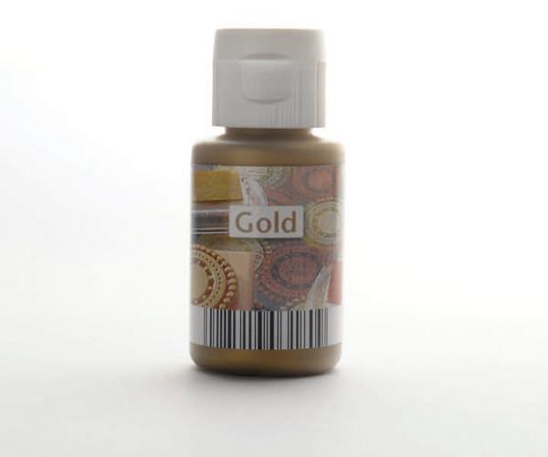 Acryl zum Stempeln · Gold