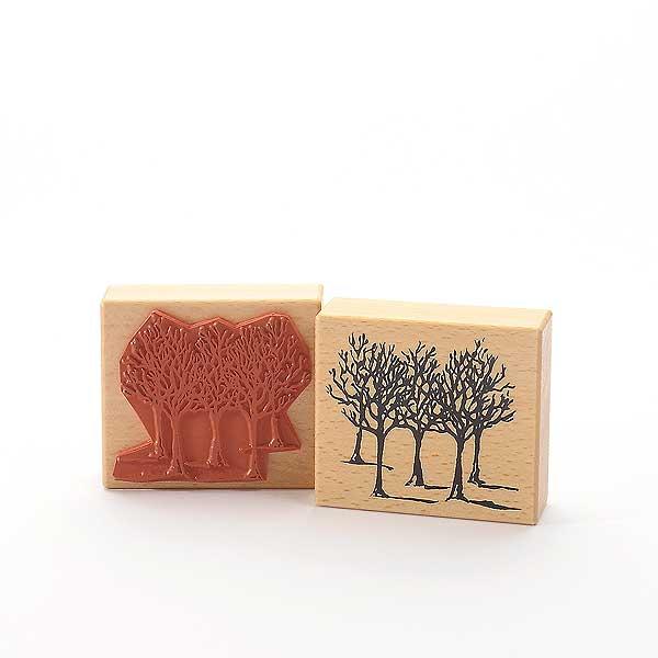 Motivstempel Titel: Judi-Kins Winterbäume