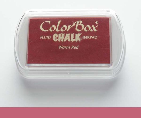ColorBox Chalk · Warm Red - Kreide Warmes Rot