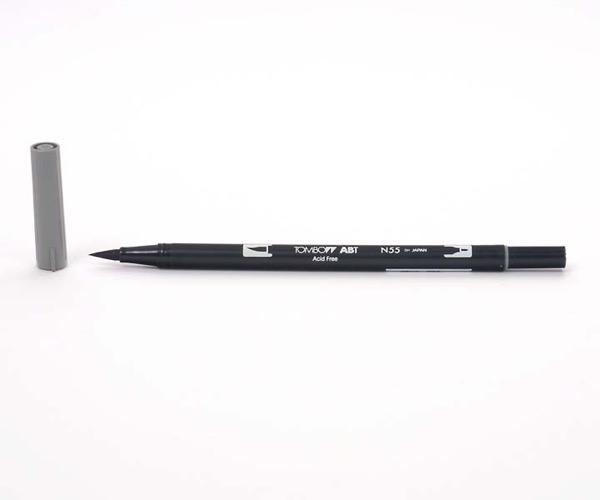 Tombow Dual Brush Pen - Cool Gray 7 - Grauton kalt 7