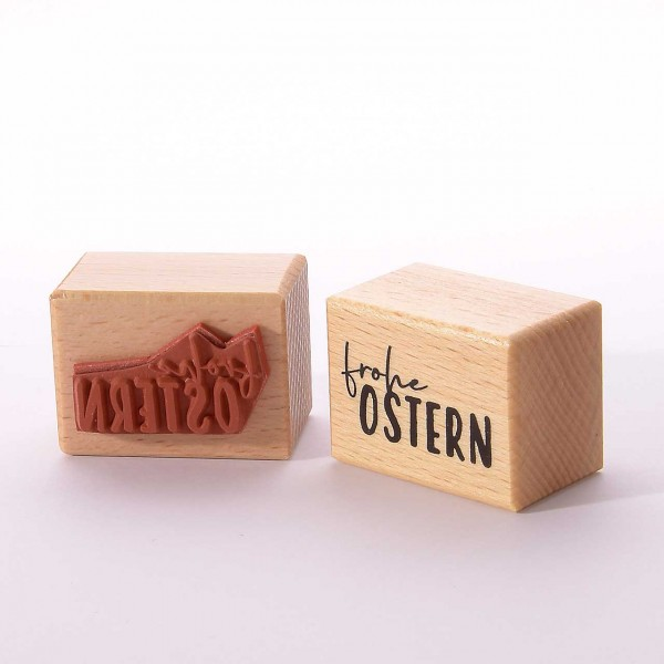 Motivstempel Titel: Frohe Ostern