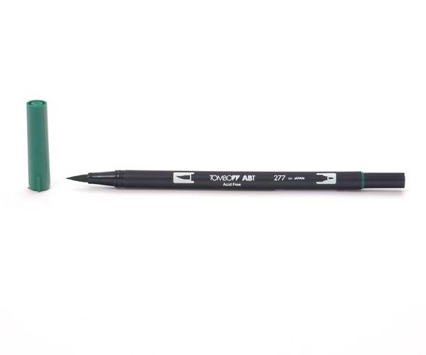Tombow Dual Brush Pen - Dark Green - Dunkelgrün