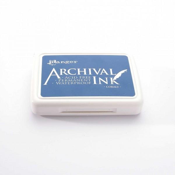 Ranger Archival Ink Stempelkissen - Cobalt · Kobaltblau