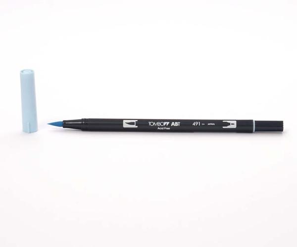 Tombow Dual Brush Pen - Glacier Blue - Gletscher Blau