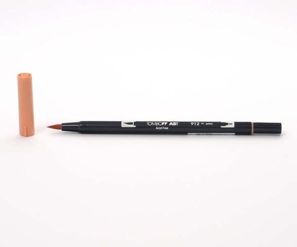 Tombow Dual Brush Pen - Pale Cherry - Kirsche blass