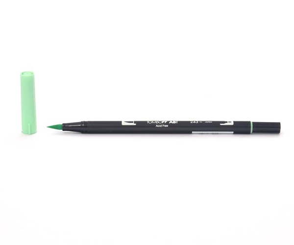 Tombow Dual Brush Pen - Mint - Minze