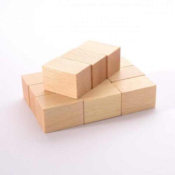 Set 12 Stempelgriffe für alle Monate, je 2 x 3 x 2 cm