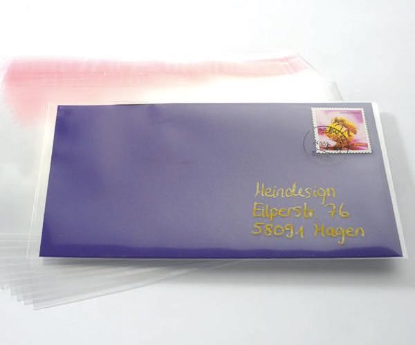 Amadeo Umschläge Kunststoff Transparent