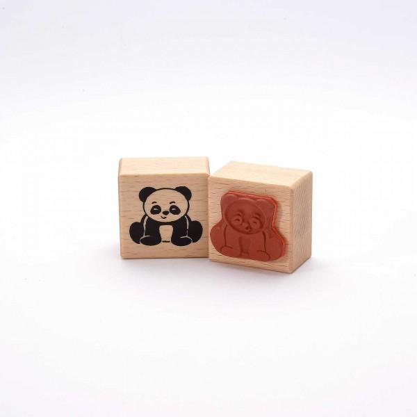 Motivstempel Titel: Kleiner Panda