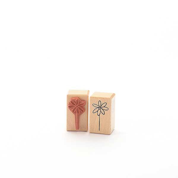 Motivstempel Titel: Einsames Gänseblümchen