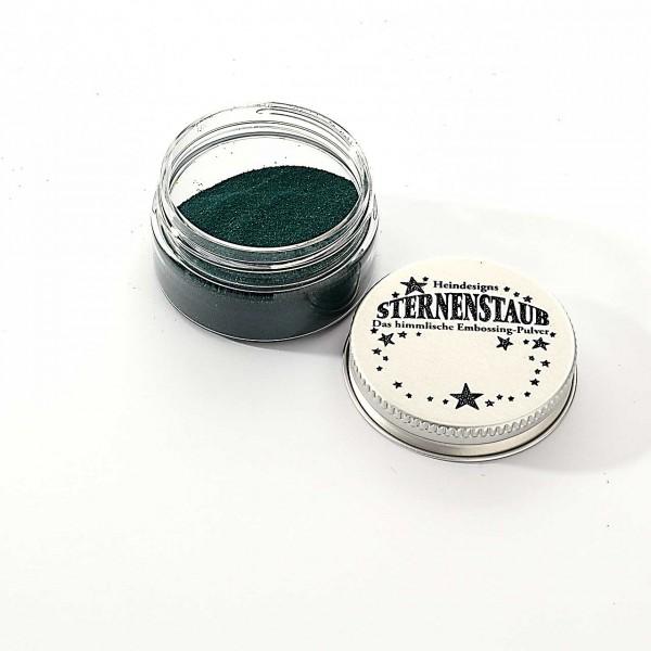 Sternenstaub dunkles Jadegrün