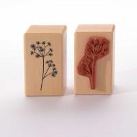 Motivstempel Titel: Gras mit Sternchenblüten