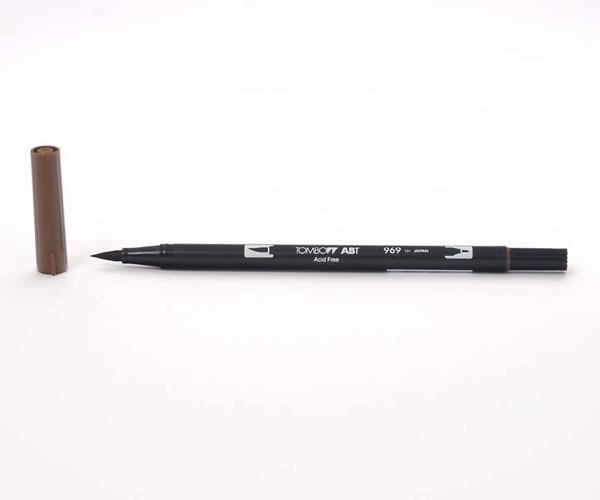 Tombow Dual Brush Pen - Chocolate - Schokolade