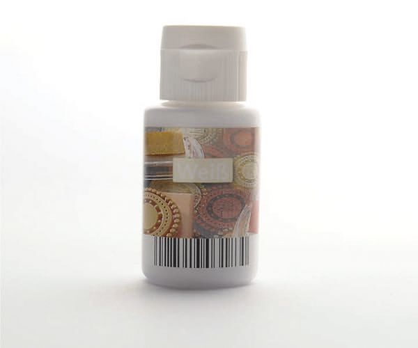 Acryl zum Stempeln · Weiß