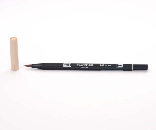 Tombow Dual Brush Pen - Tan - Teint