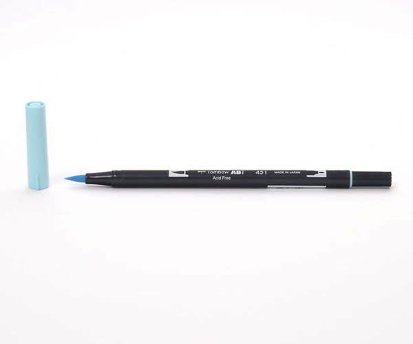 Tombow Dual Brush Pen - Sky Blue - Himmelblau